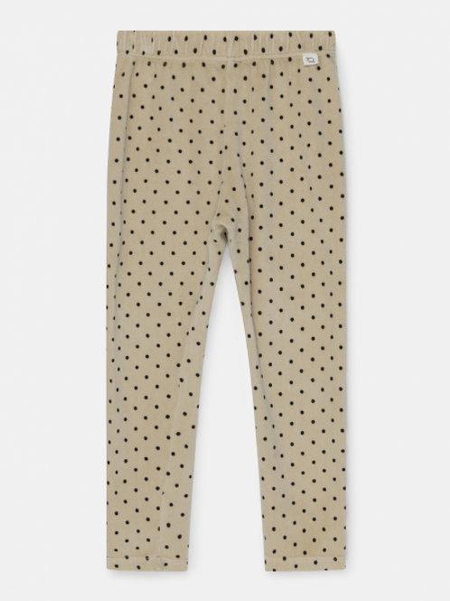 organic kids leggings dots