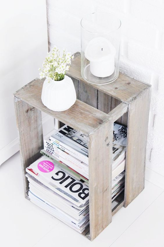 DIY: Magazine kist