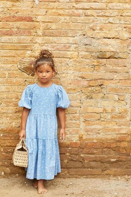 KIDS dress royal blue