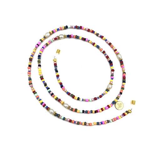 SUNNYCORD rainbow pearls
