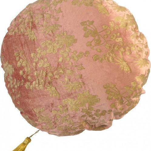 Kussen rond pink