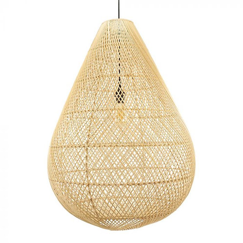 Lamp natural rotan XXL