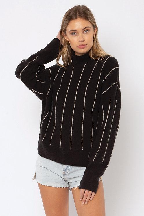 AMUSE trui zwart