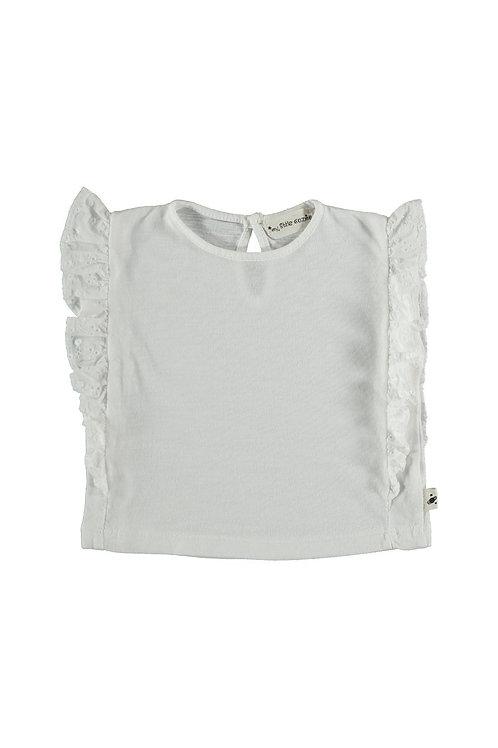 Baby shirt ruffle