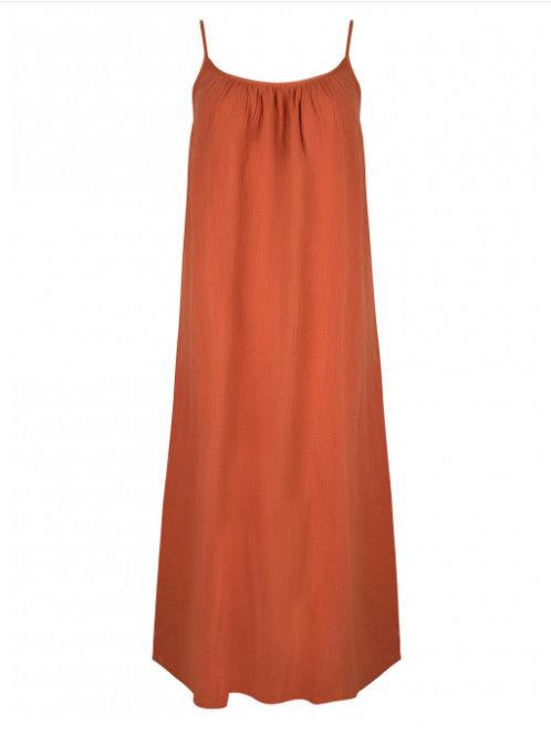 Dress terracotta
