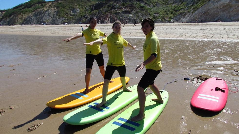 YOGA & SURF à St Jean de Luz,  du 16 au 22 septembre 18