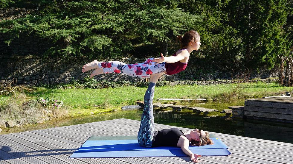 Yoga & Acroyoga en Cévennes: 10-14 Juillet 2020