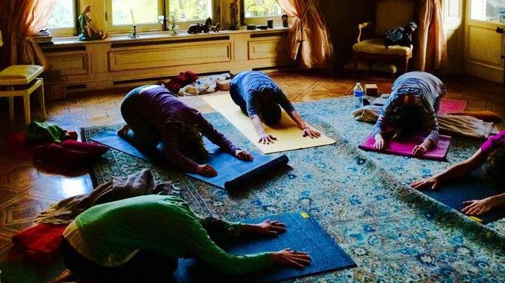 Stage de Yoga, Cuisery, Bourgogne: du 4 au 6 octobre 2019
