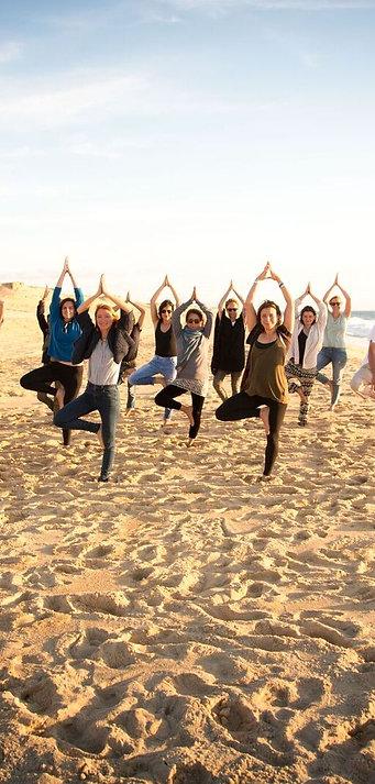 """Yoga Océan: """"Équilibre et Profondeur"""", Saint Jean de Luz, 28 Juill - 2 Août 19"""