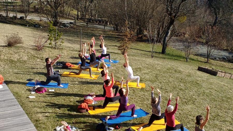 Yoga, Marche et Nature, Saint Gervais, du 10 au 13 juillet 2020