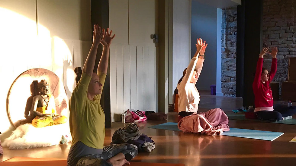 Stage Yoga Traditionnel, Plottes Bourgogne du Sud, 7 - 11 novembre 21