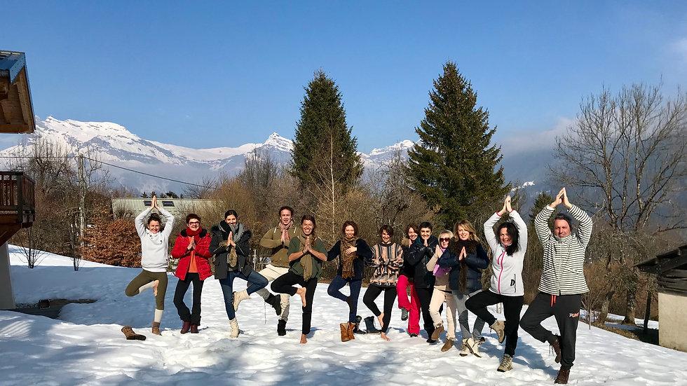 Retraite Yoga & Montagne, Saint Gervais, du 28 au 31 mars 2019