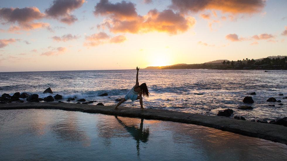 Yoga Running & Cuisine Vitalité   St Jean de Luz  du 30 août au 2 sept. 2018