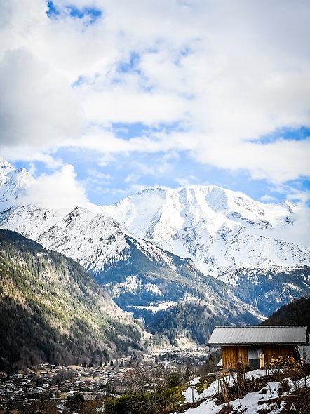 Yoga & Montagne, Saint Gervais, du 13 au 16 Février 2020