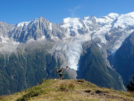 Yoga & Montagne, Saint Gervais, du 20 au 23 août 2020