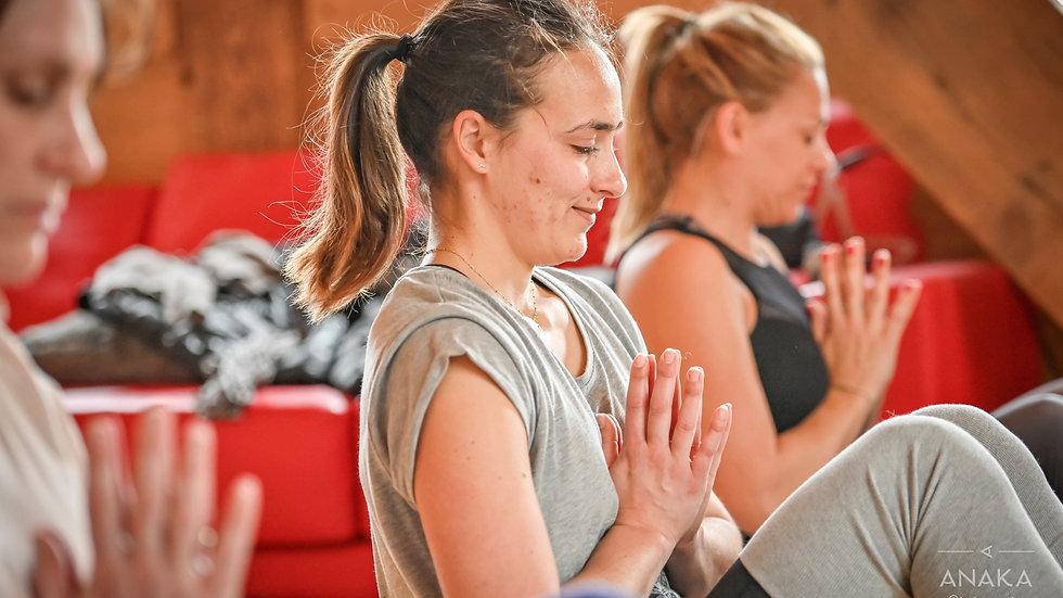 Stage de Yoga Thérapie, Praz-sur-Arly, 28 - 31 janvier 21