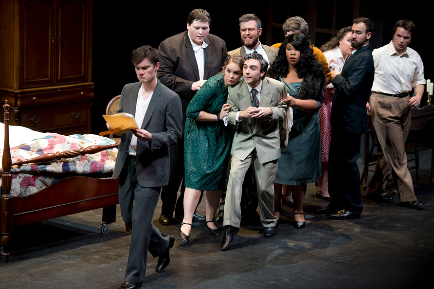 Gianni Schicchi with Simpson College Opera 2015