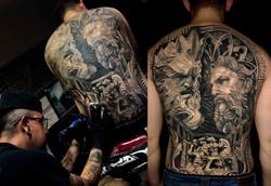 Realismo Sombras - Julian Gonzales Tattoo artist