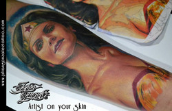 Realismo Color - Julian Gonzales Tattoo artist