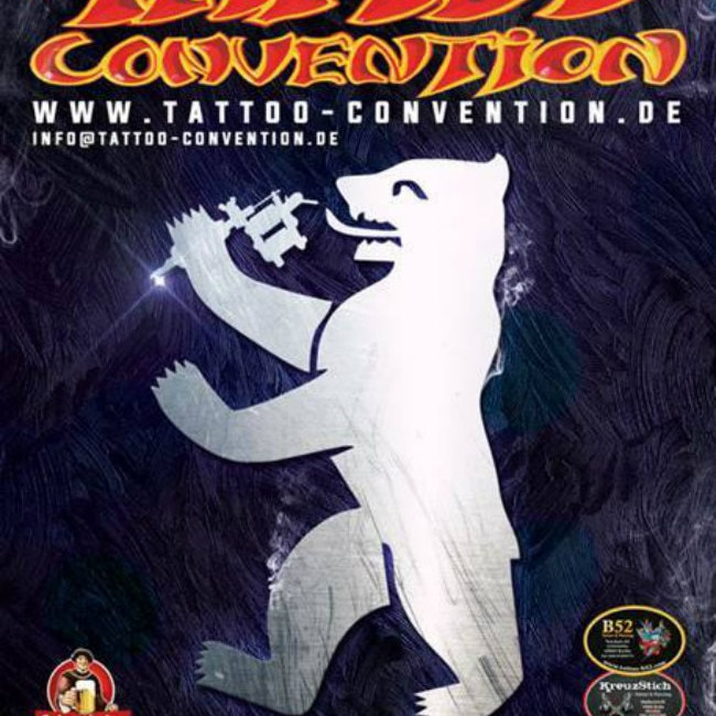 28th Berlin Tattoo Convention • August 2018