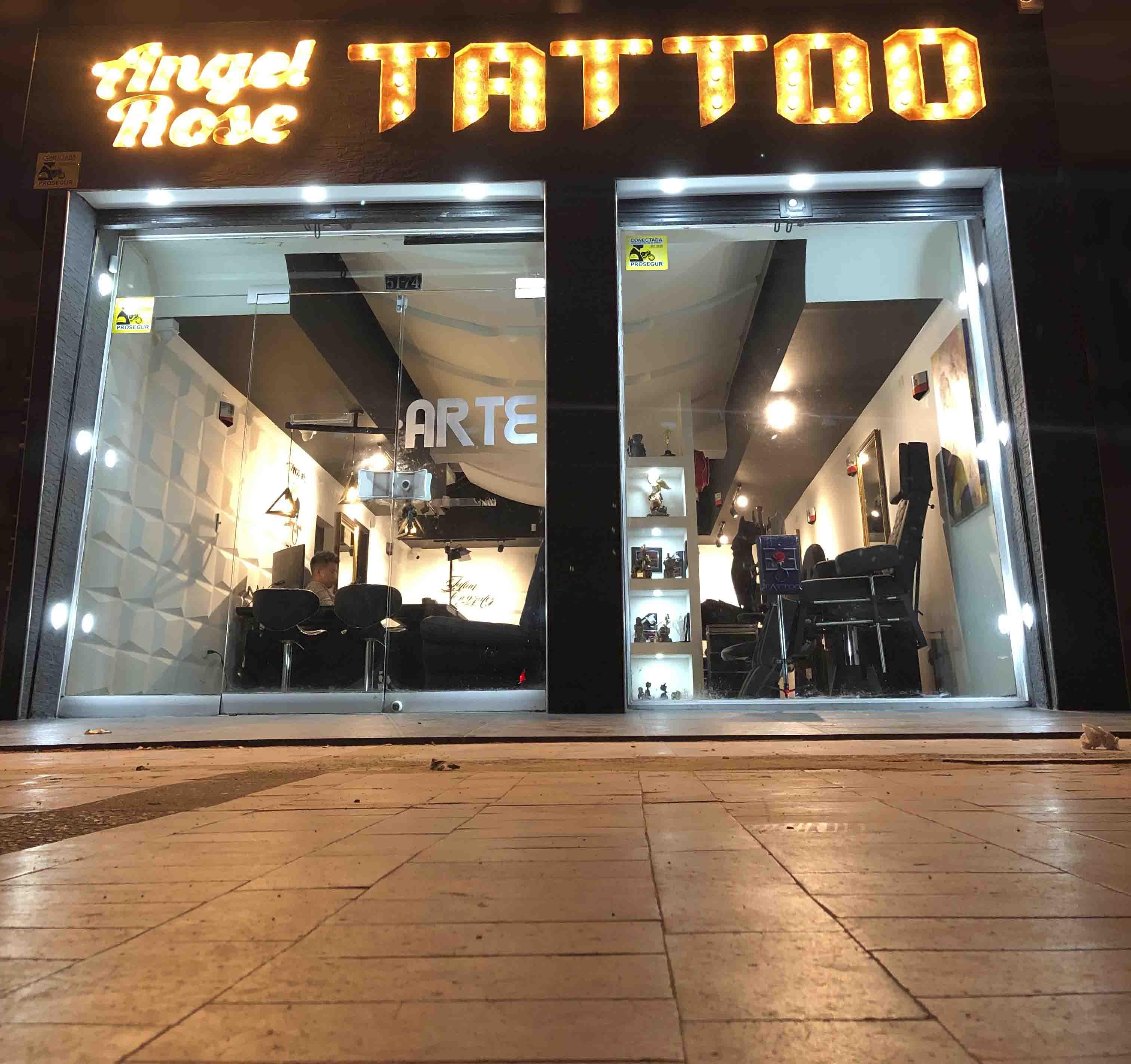Angel Rose Tattoo Galerias