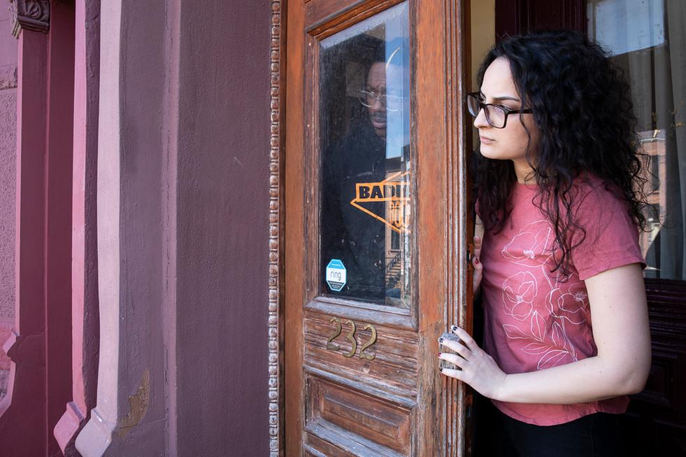 Sara Meghdari & Dáreece Walker, Bedford-Stuyvesant, Brooklyn, NY, March 26, 2020
