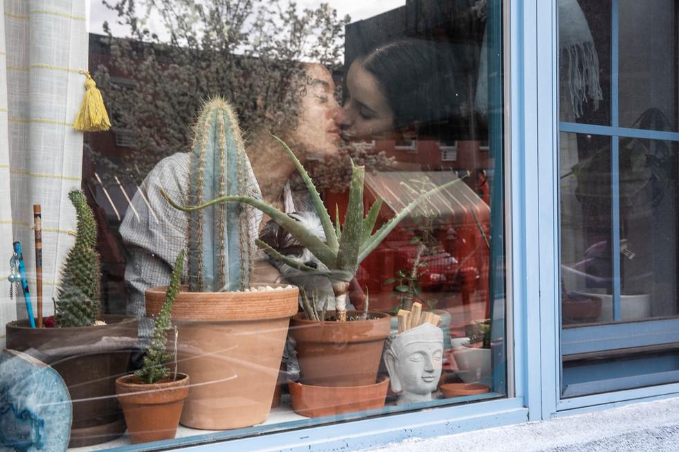 Alyssa Tineo, Roni Shalit & Precious, Bushwick, Brooklyn, NY, April 2, 2020