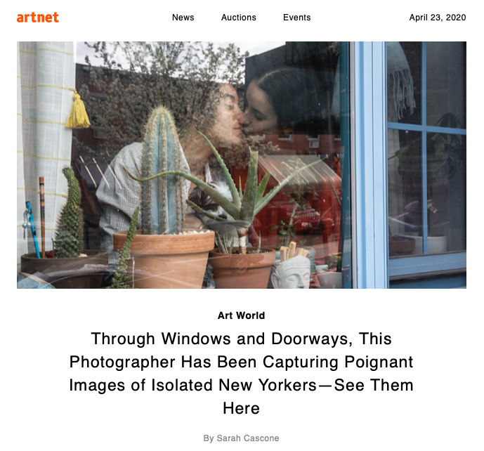 Artnet News_From the Outside Looking In