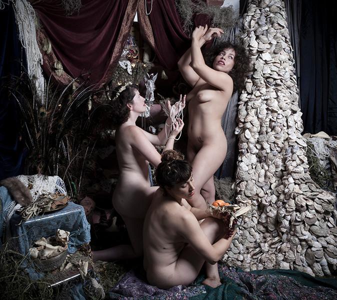 Three Muses, 2017