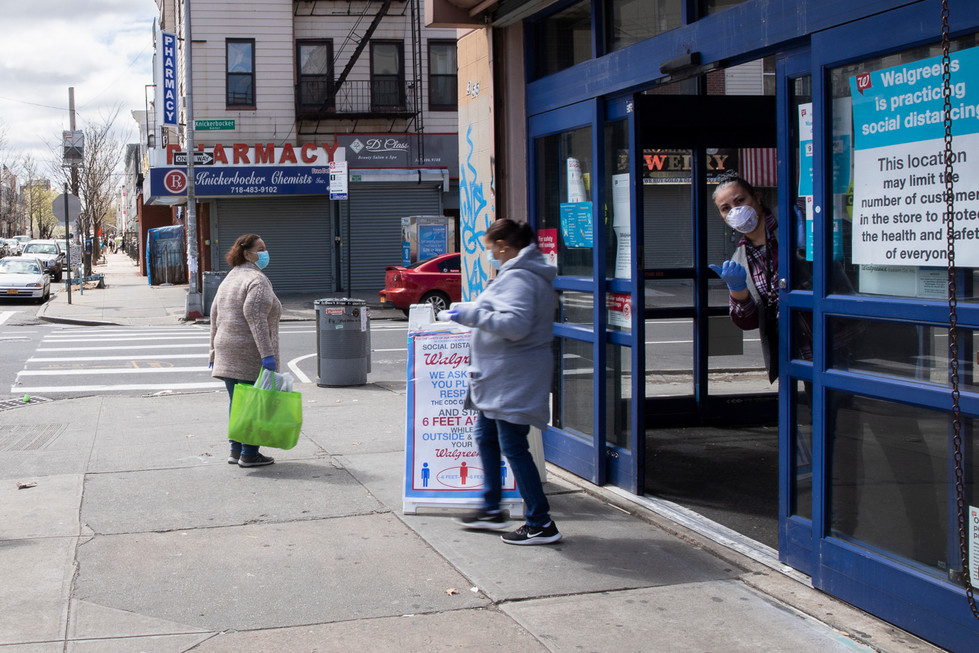 Cleared to enter Walgreens, Bushwick