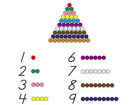Montessori Math with Legos