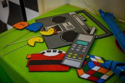 80s theme custom photo booth