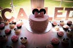 Mini Mouse theme baby shower