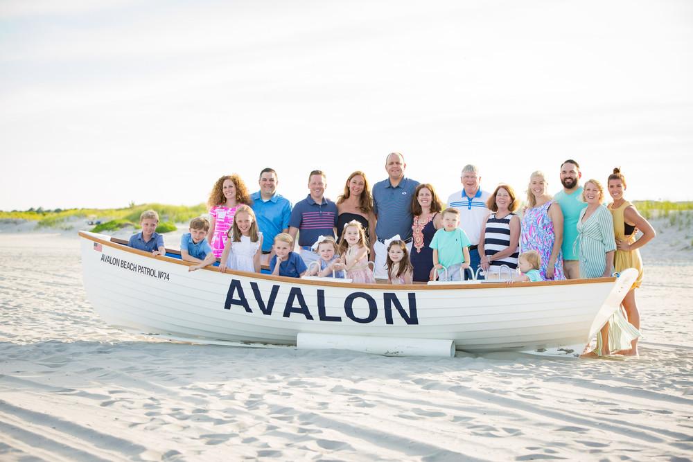 Avalon NJ family photos