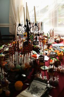 Goosebumps theme birthday party