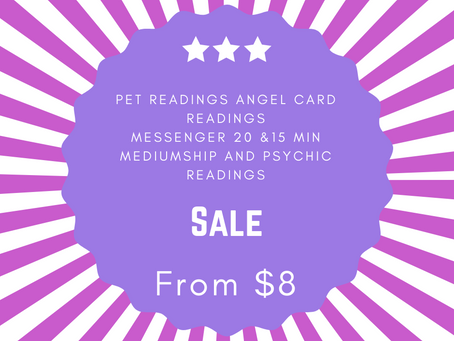 $8 ANGEL CARD READINGS ! $15 READINGS $20 15 min readings this weekend only