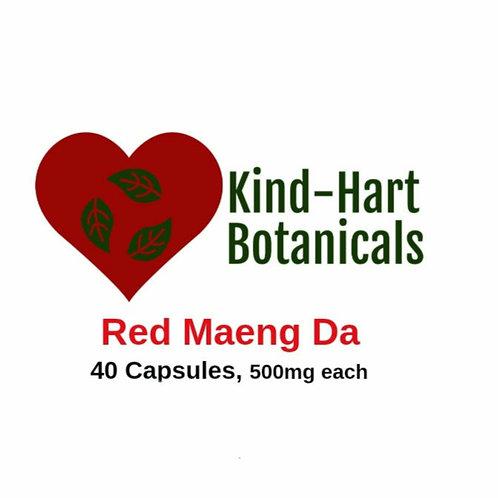 Red Maeng Da (40 Capsules)