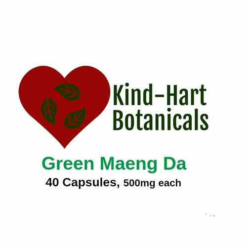 Green Maeng Da (40 Capsules)