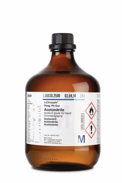 Ref.: 1081011000 - Tetrahidrofurano LiChrosolv 1 L