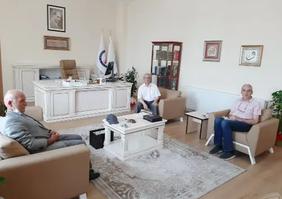 Prof Dr Hasan TOSUN hocamızın ziyareti.