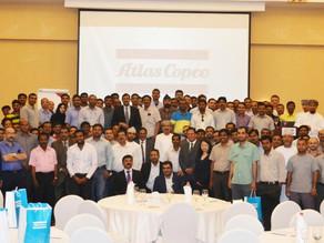 Atlas Copco's Customer Day at Sohar a roaring Success