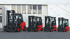 Linde Material Handling and Bin Salim offers E-Trucks and other Forklifts