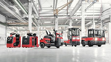 Linde Material Handling and Bin Salim offers Tow Tractors and Platform Trucks and other Forklifts