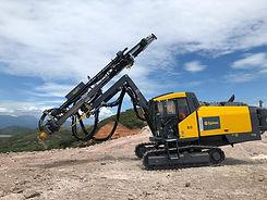 Epiroc FlexiROC T35 drill rig