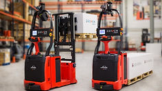 Linde Material Handling and Bin Salim offers Automated Trucks and Explosion Proof Trucks and other Forklifts
