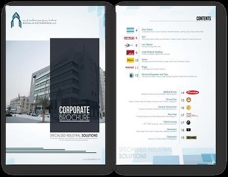 Bin Salim Corporate Brochure - Specialized Engineering Solutions