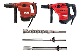 Combihammers for Drilling and Demolition