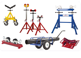 Pipe Stands and Rollers