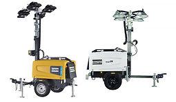 Diesel Lighting Towers V5+ / V4W (LED / Metal Halide)
