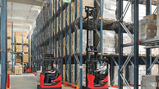 Linde Material Handling and Bin Salim offers Reach Trucks and other Forklifts